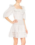 Broderie Anglaise Mini Dress
