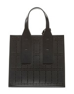 Openwork Leather Tote