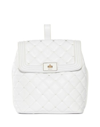 Quilted Eco-leather Backpack