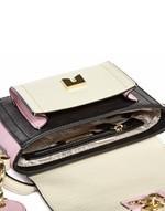 Multi-coloured Eco-leather Shopper Bag