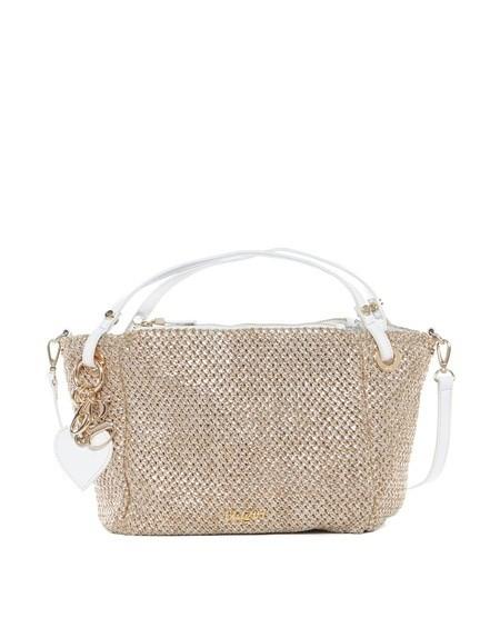 Laminated Braided Small Bag