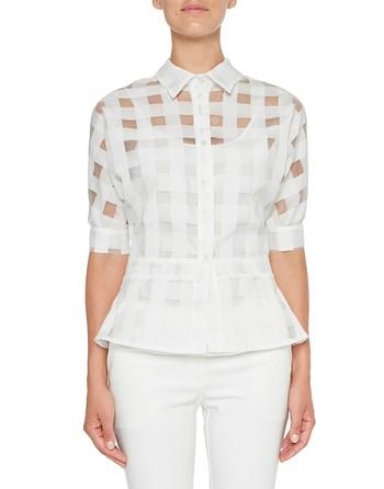 Vichy Organza Shirt