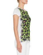 T-shirt in Jersey Stampa Animalier