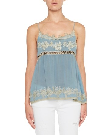 Viscose Top With Lace
