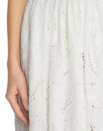 Rose Motif Broderie Anglaise Skirt