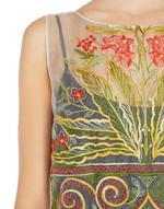 Платье из органзы с вышивкой в этническом стиле