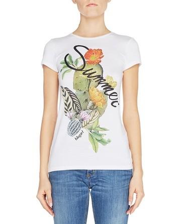Camiseta Con Estampado Veraniego