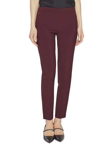 Pantalon Cigarette En Cady Stretch