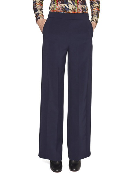 Pantalone Ampio in Cady Stretch