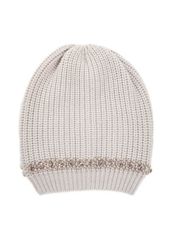 Woollen Hat With Embroidery