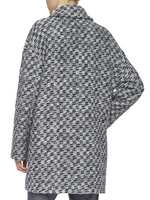 Bouclé And Lurex Coat