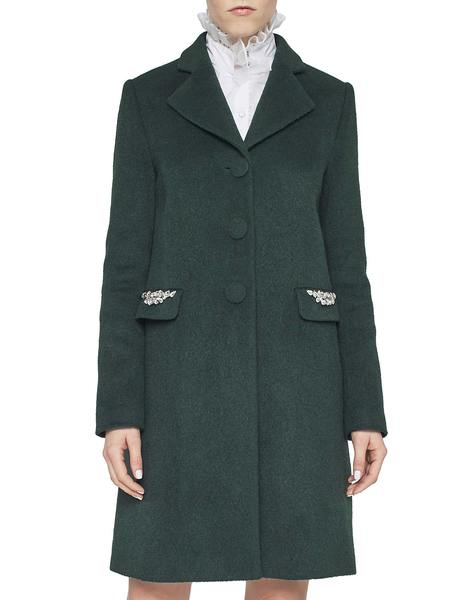 A-Line Coat With Embroidery