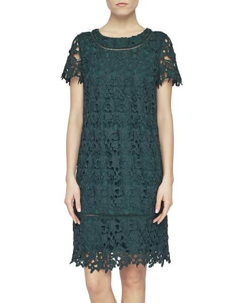 Macramé Lace A-Line Dress