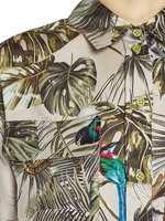 Jungle Print Twill Shirt