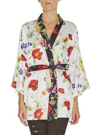 Floral Print Kimono Blouse