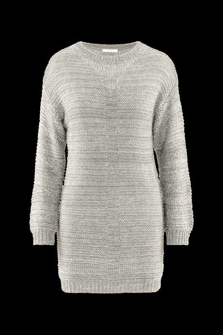 Woman's knitted dress two colors