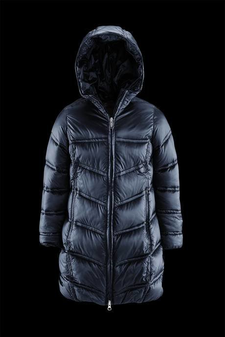 Girl quilted down jacket