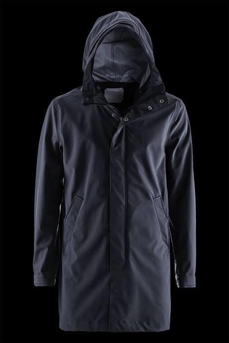 SOFTSHELL PARKA MAN UNLINED