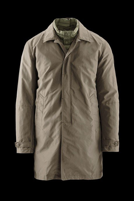 TRENCH PLACKET ENGLISH MAN WITH INTERNAL DETACHABLE