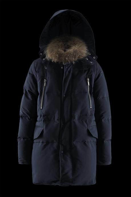 Man's down jacket Fur Collar
