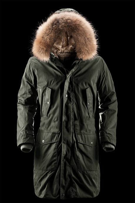 MAN COAT PARKA 866PTF70