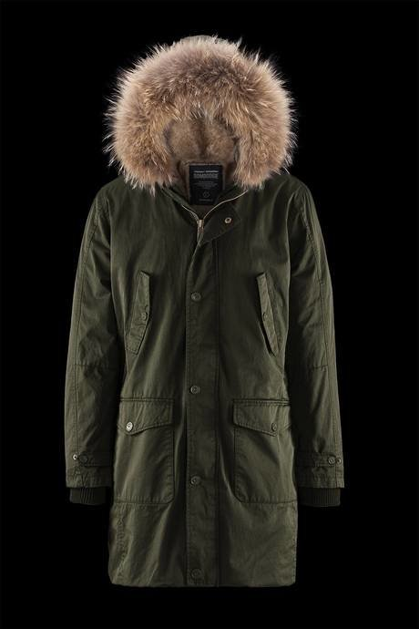 Man's parka Warm