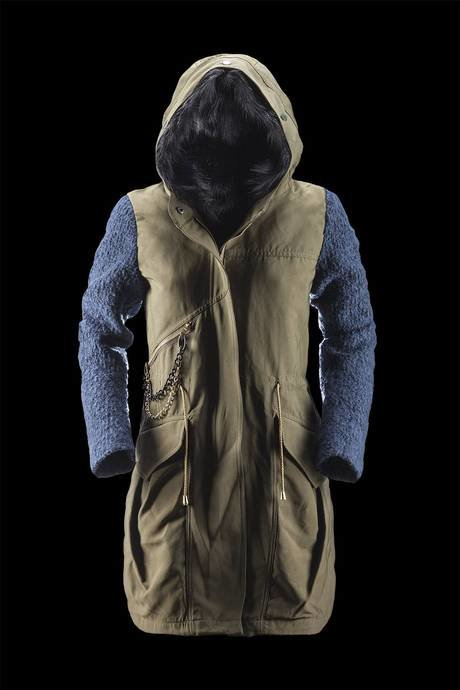 WOMAN COAT PARKA 3586TBS5
