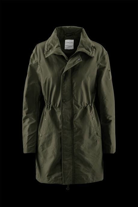 PARKA WOMAN COMPLETELY UNLINED