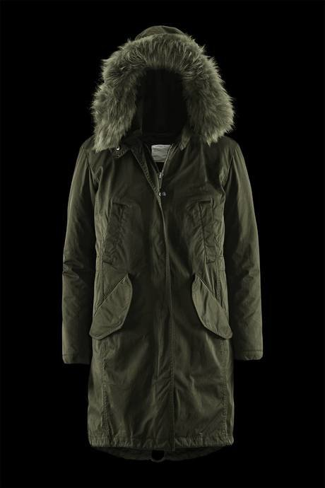 Woman's parka Fishtale