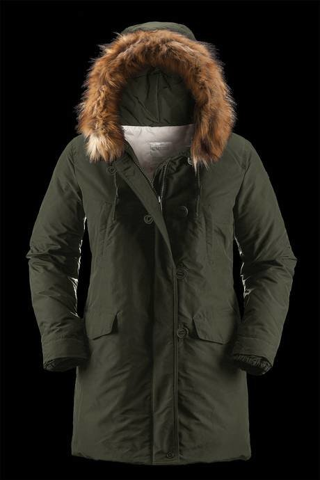 WOMAN COAT PARKA 656FTNP7