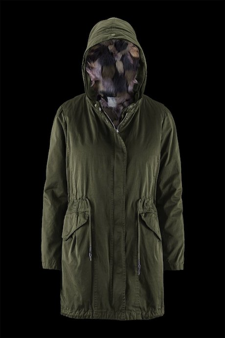 Parka Detachable Multicolor Lining