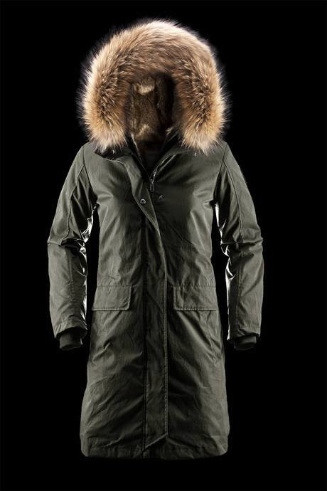 WOMAN COAT PARKA 814RTF70