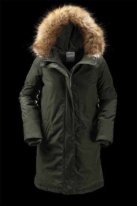 WOMAN COAT PARKA 849FTODB