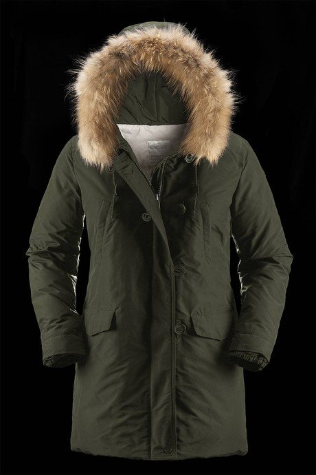 WOMAN COAT PARKA 9656TNP7