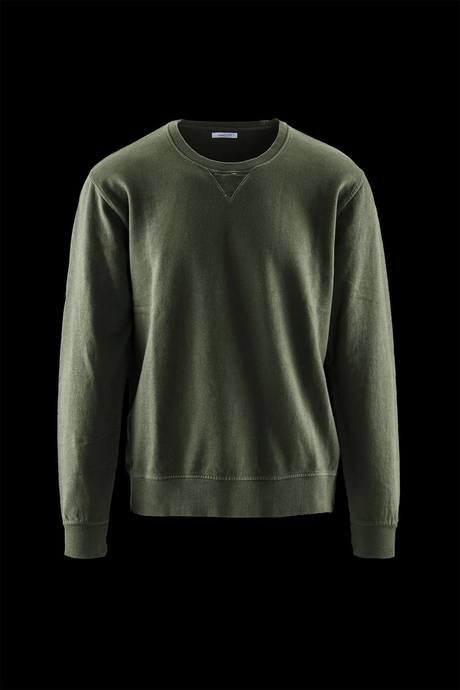 Man's sweater, 100% cotton and round neck