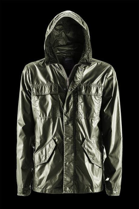 FIELD JACKET MAN UNLINED