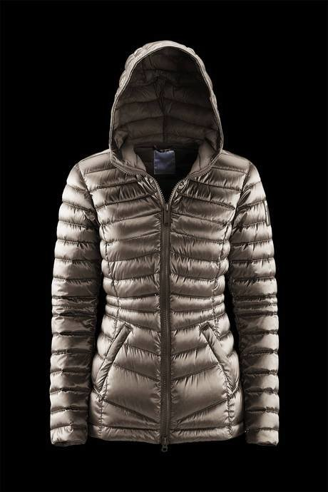 WOMEN'S JACKET PADDING SYNTHETIC FEATHER EFFECT