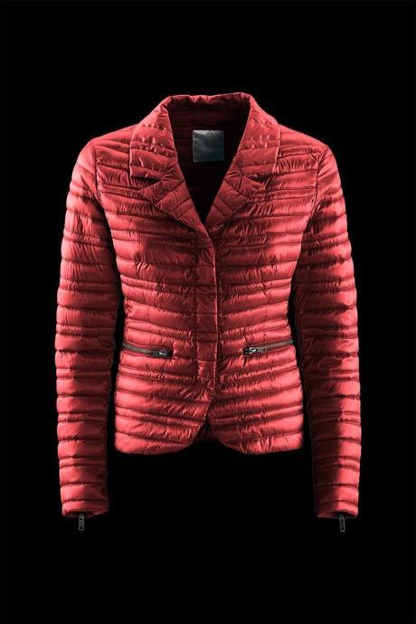 BLAZER WOMEN'S PADDING SYNTHETIC FEATHER EFFECT