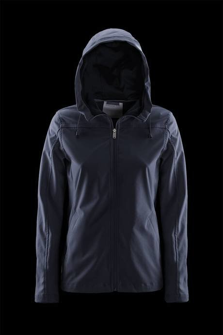 WOMEN'S SHORT PARKA SOFTSHELL UNLINED
