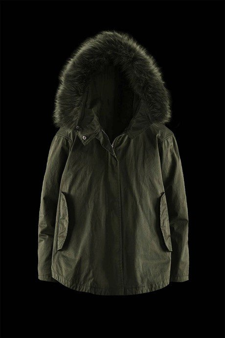 Womans parka Street