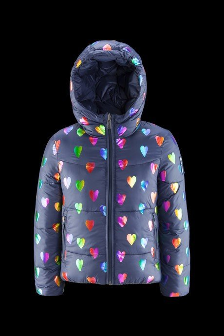 Girl down jacket Heart