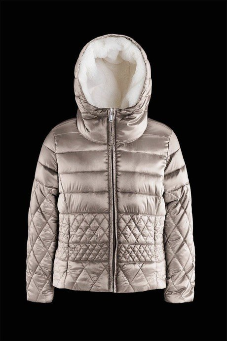 Girl down jacket Glossy