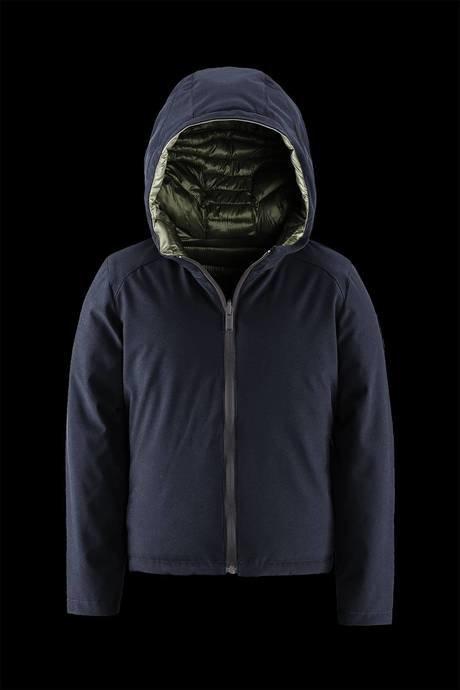Boy down jacket Reversible