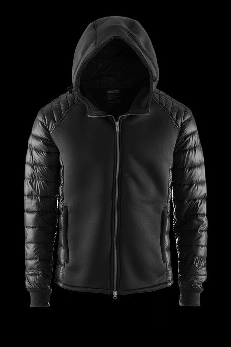 JACKET MAN BODY AND FABRIC HOOD NEOPRENE