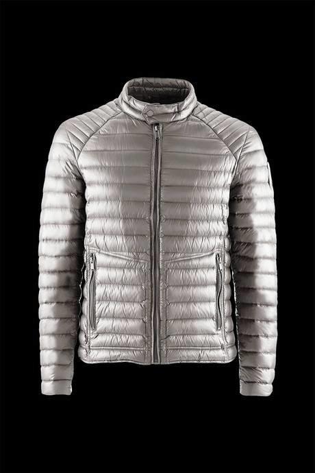 Man's down jacket Biker