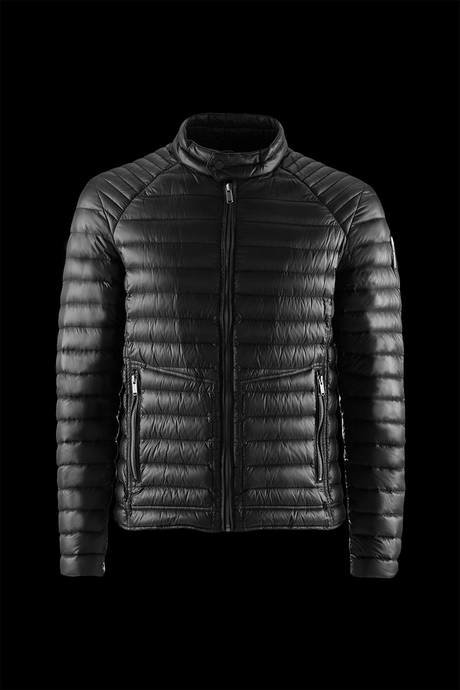 Man's down jacket Biker