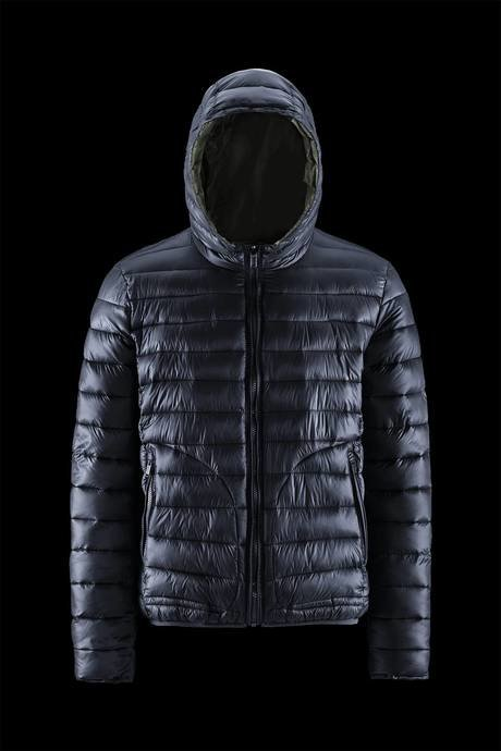 Man's down jacket reversible and two colors