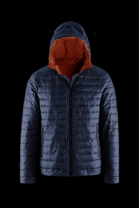 Man's down jacket Reversible