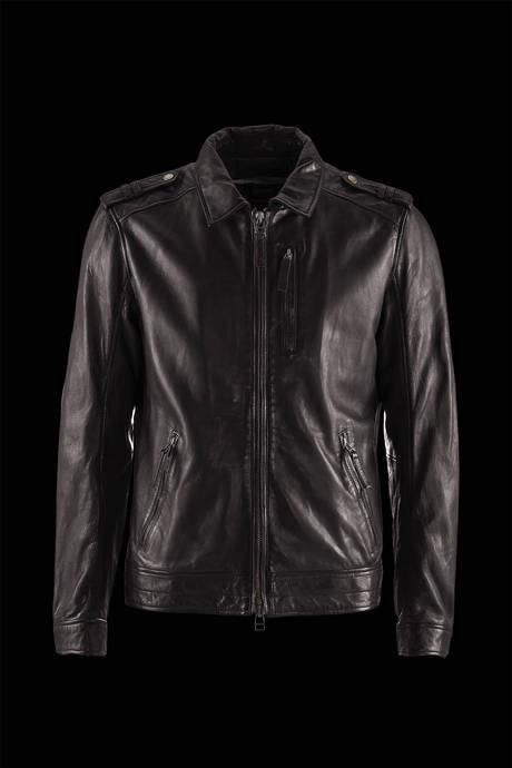 JACKET MAN LEATHER SHIRT WRIST