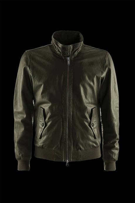 Man's leather jacket Dafi